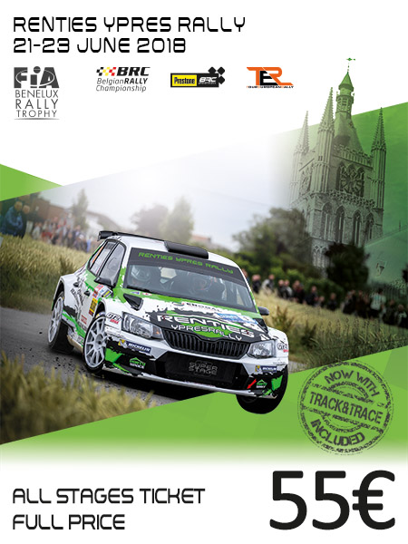 Rallye ypres 2018 parcours