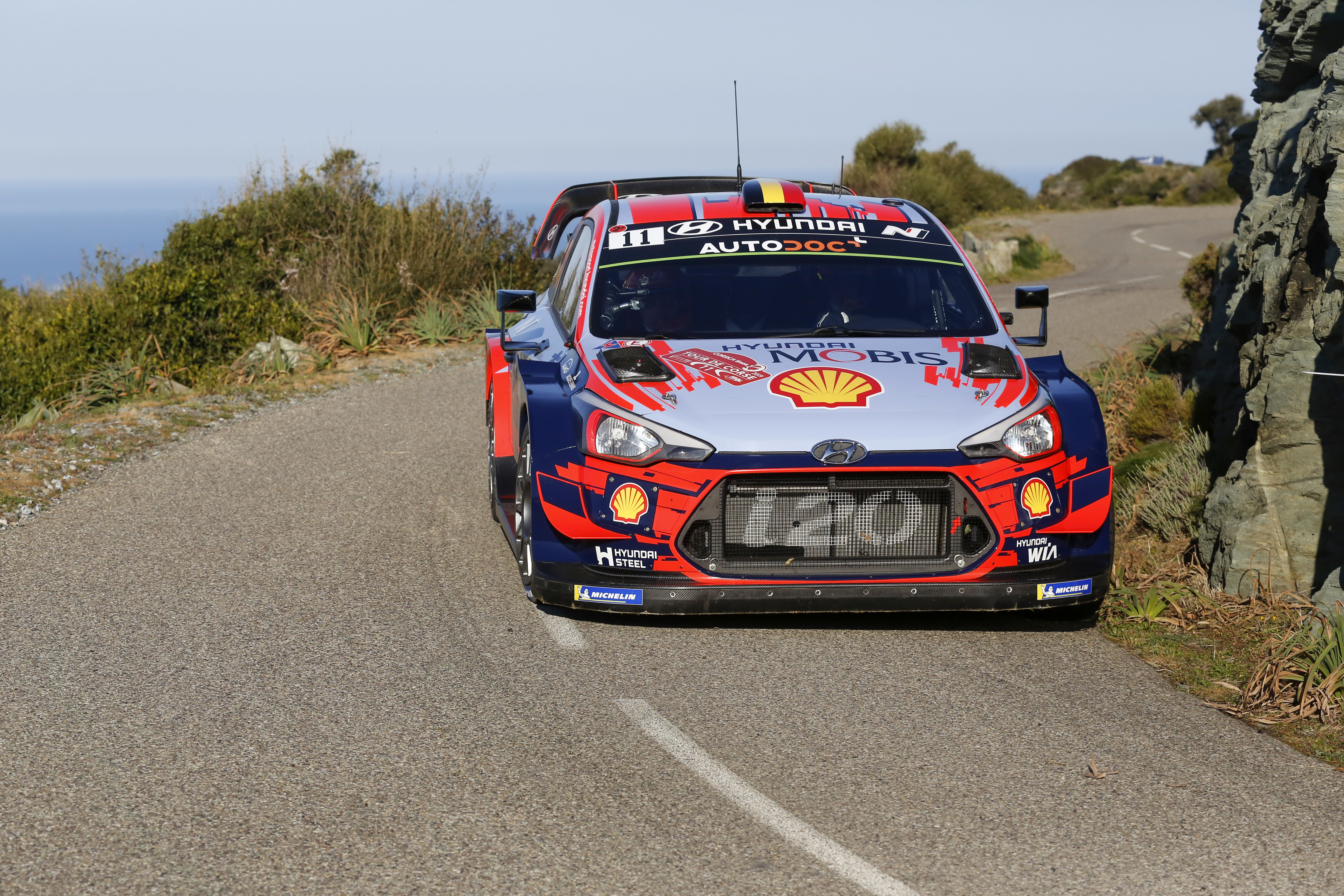 Hyundai I20 Wrc >> Thierry Neuville With The Hyundai I20 Coupe Wrc